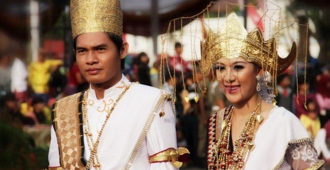 pernikahan adat lampung