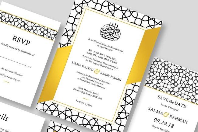 6 Contoh Kata Kata Undangan Pernikahan Islami Yang Bermakna